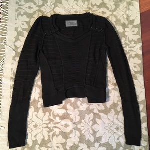 All Saints cropped sweater